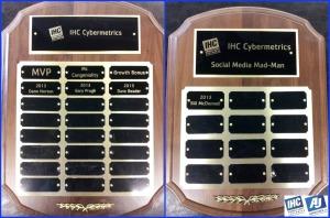 IHC plaques 2013