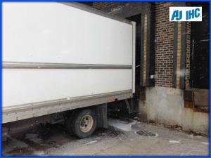 Truck at dock AJ IHC