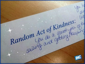 random act of kindness post