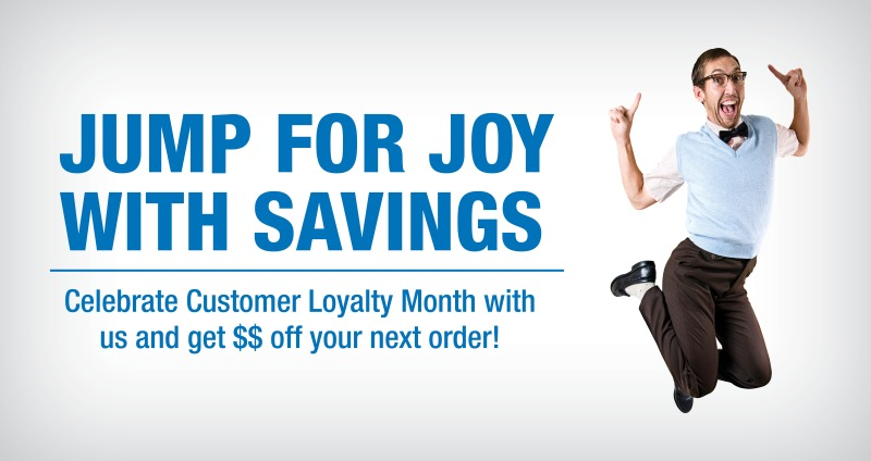 Customer Loyalty Month Banner