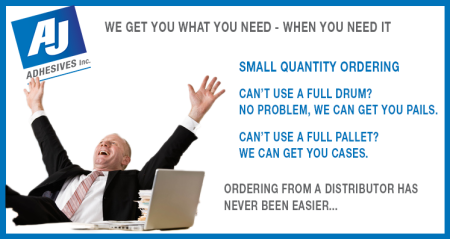 AJ order from a distributor campaign get you what you need when you need it